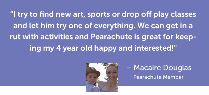 Quote by Macaire Douglas about Pearachute